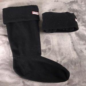 Tall Fleece Hunter Boot Socks